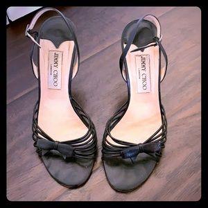 Jimmy choo strapping heels